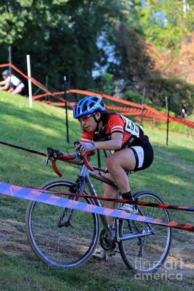 Carbon Fiber Photograph - Cyclocross Bike Race by Douglas Sacha