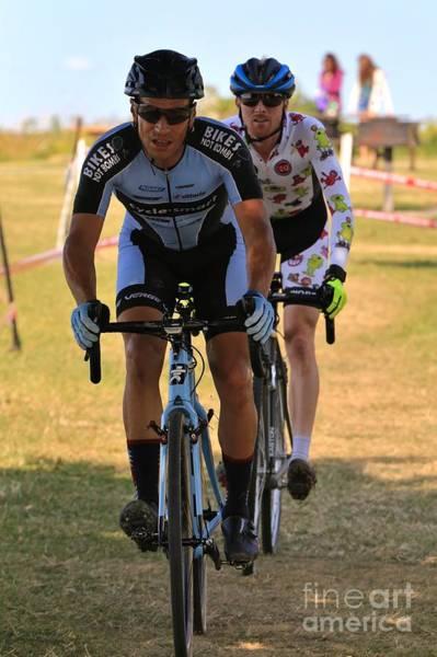 Carbon Fiber Photograph - Cyclocross Cycling by Douglas Sacha