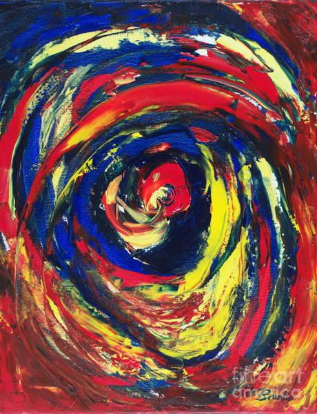 Painting - Cyclone by Walt Brodis