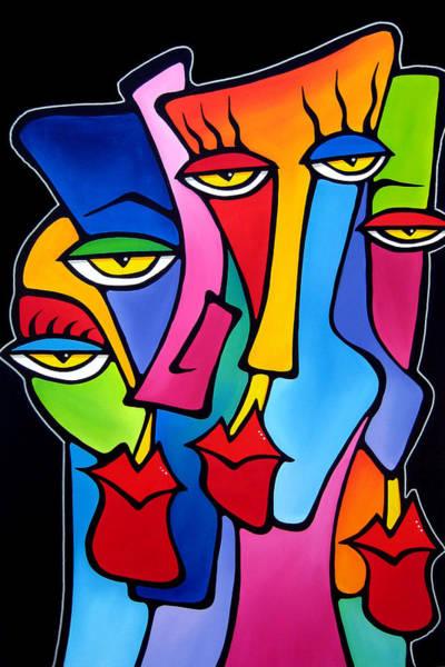 Wall Art - Painting - Cynics by Tom Fedro - Fidostudio