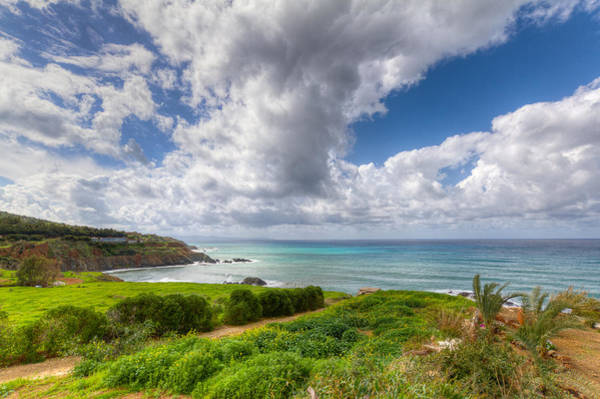 Sea Wall Art - Photograph - Cyprus Spring Seascape And Landscape by Iordanis Pallikaras