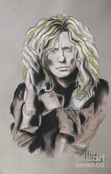 Wall Art - Painting - D Coverdale by Melanie D