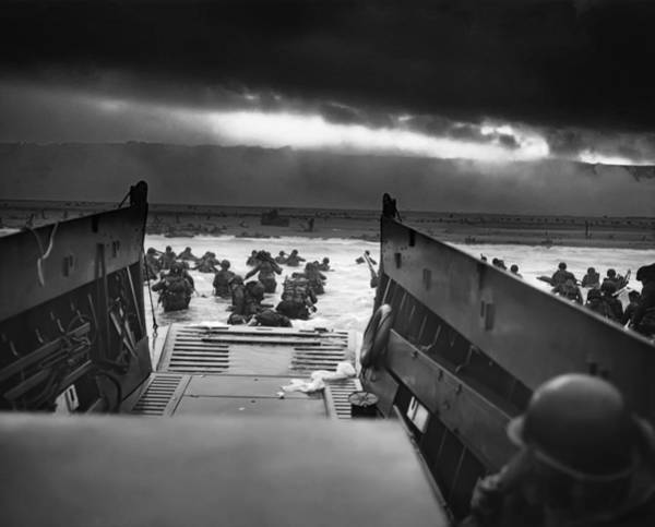 Medal Of Honor Photograph - D-day June 6, 1944 Omaha Beach by Daniel Hagerman