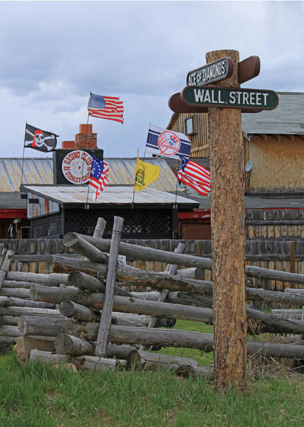 Photograph - D07337 Downtown Stanley Idaho by Ed Cooper Photography