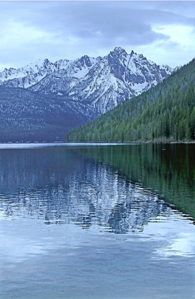 Photograph - D07339 Sawtooth Range Above Refish Lake by Ed Cooper Photography