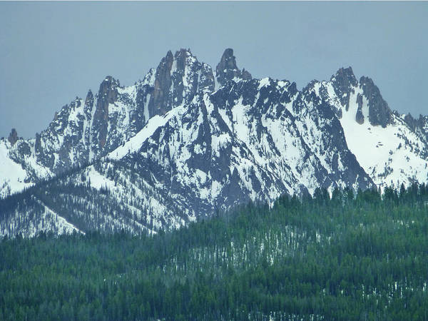 Photograph - D07345-dc Peaks Of The Sawtooths by Ed Cooper Photography