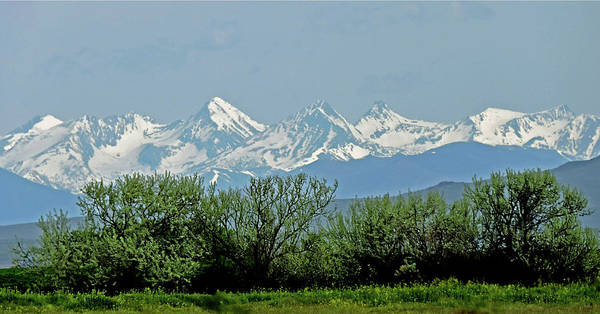 Photograph - D07780 Idahos Highest Peaks by Ed Cooper Photography
