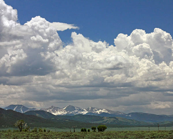 Photograph - D10944 Clouds Over The Culebra Range by Ed Cooper Photography