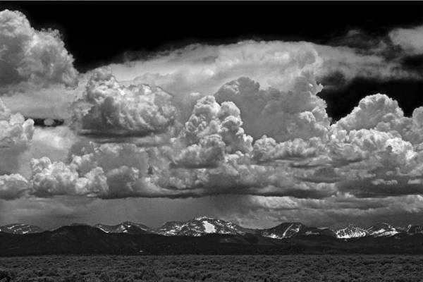 Photograph - D10945-bw Clouds Over The Culebra Range by Ed Cooper Photography