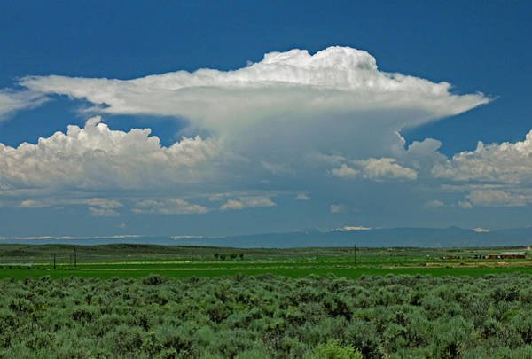 Photograph - D10946 Thunderhead Over San Luis Valley by Ed Cooper Photography