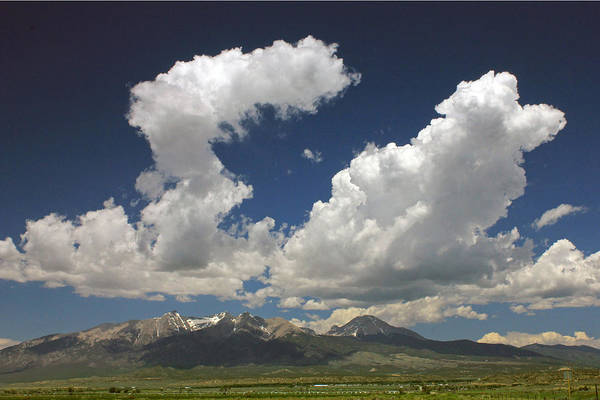 Photograph - D10947 Clouds Over Sange De Cristo by Ed Cooper Photography