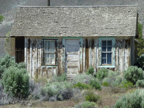 Photograph - D11085-dc Old Cabin In Nevada  by Ed Cooper Photography