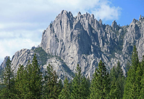 Photograph - D2m6101 Castle Crags State Park by Ed Cooper Photography