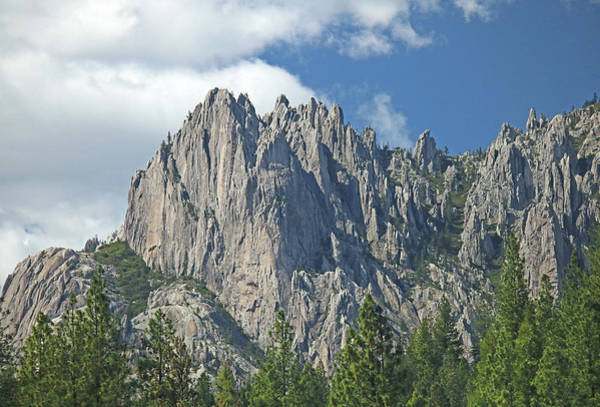 Photograph - D2m6103 Castle Crags State Park 2 by Ed Cooper Photography