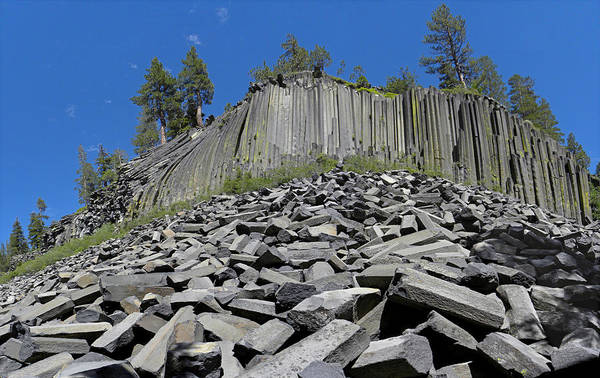 Photograph - D2m6312 Devils Postpile National Monument by Ed Cooper Photography
