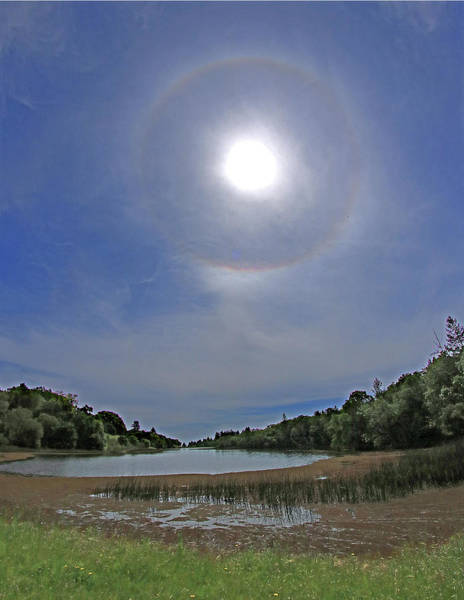 Photograph - D6b6378 Sun Ring Halo Jack London by Ed Cooper Photography