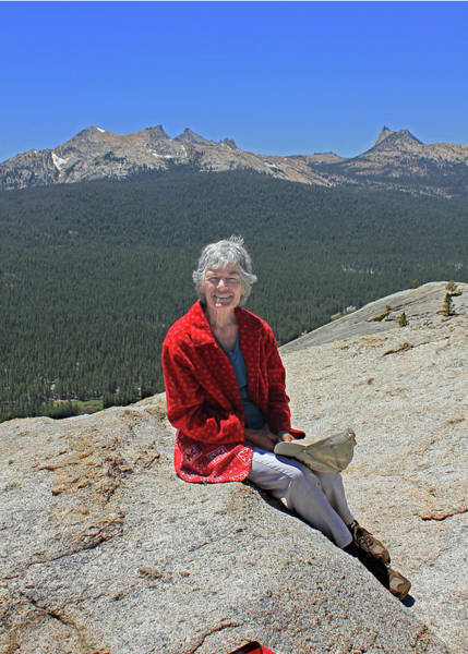Photograph - D6m6524 Debby Cooper On Lembert Dome by Ed Cooper Photography