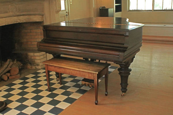 Photograph - D8b6306 Jack London's Grand Piano by Ed Cooper Photography