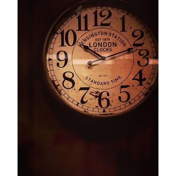 Steampunk Wall Art - Photograph - Día 4: Reloj. #project365 by Joel Garcia