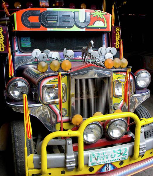 The Philippines Wall Art - Photograph - Da Jeepney by Betsy Knapp