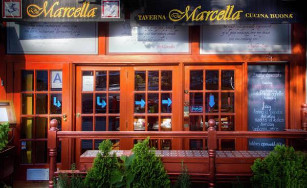 Taverna Photograph - Da Marcella Tavern by Mark Andrew Thomas