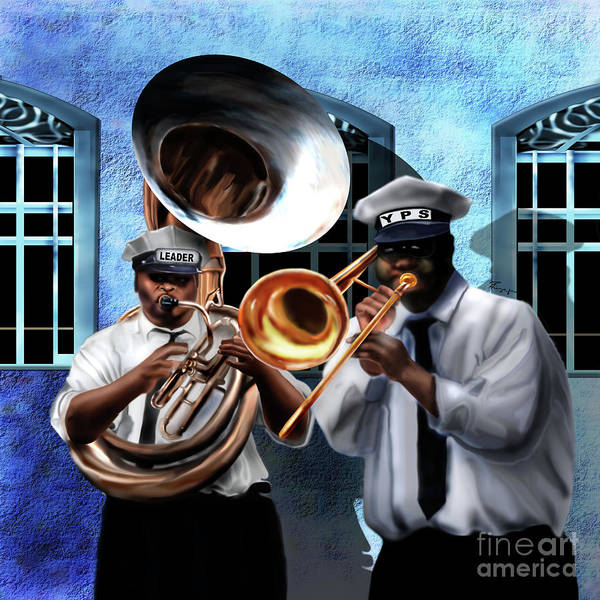 Painting - Da New Orleans Two by Reggie Duffie