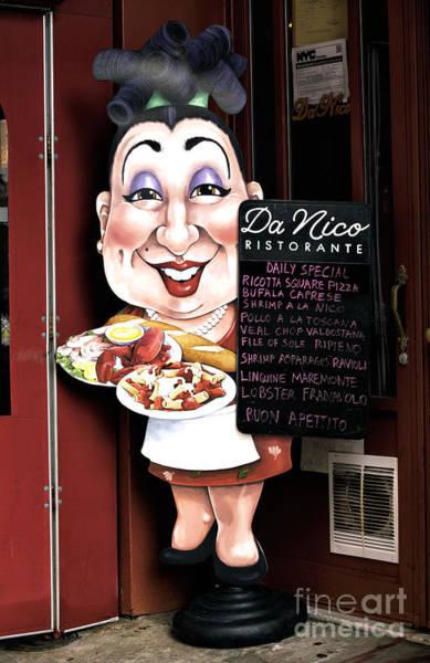 Photograph - Da Nico Little Italy by John Rizzuto