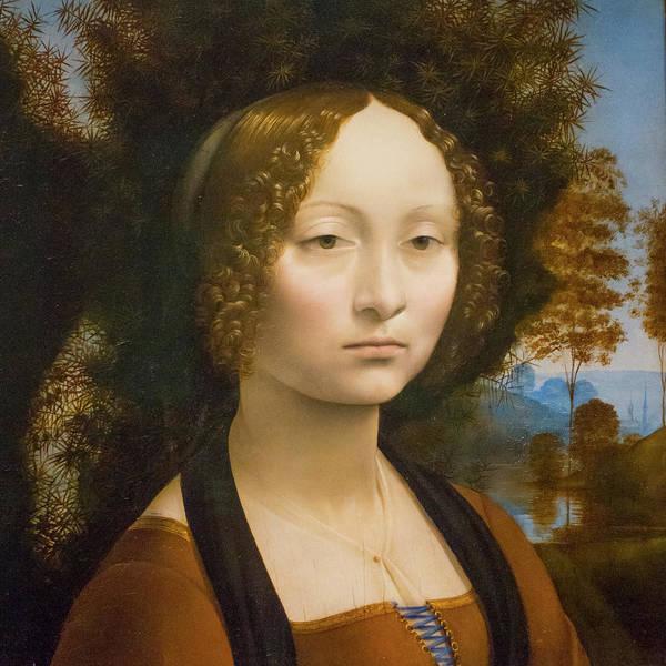 Photograph - Da Vinci Ginevra De Benci by SR Green