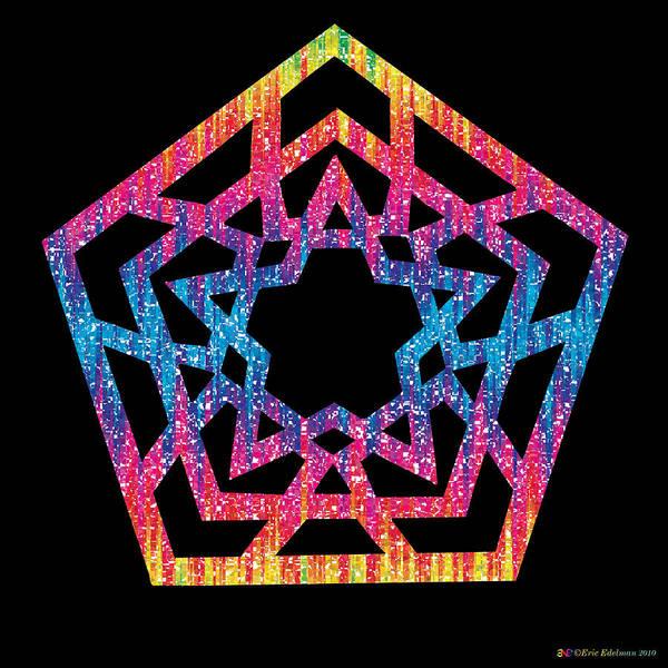 Digital Art - Da Vinci Star by Eric Edelman