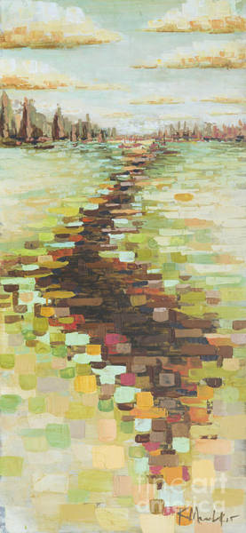 Painting - Dabble Creek by Kaata    Mrachek