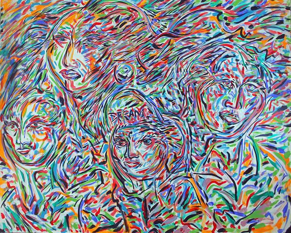 Ranchera Wall Art - Painting - Daca Requiem  by Jimmy Longoria