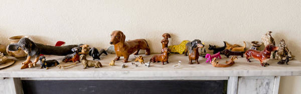 Photograph - Dachshund Sculptures by Steven Ralser