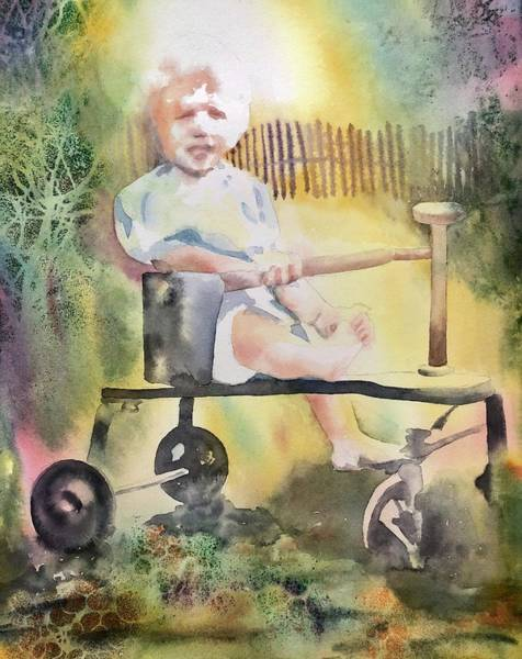 Painting - Dad Circa 1934 by Tara Moorman