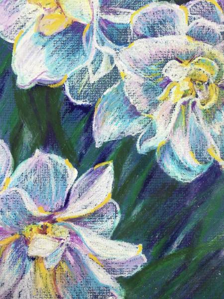Wall Art - Painting - Daffodils by Susan E Brooks