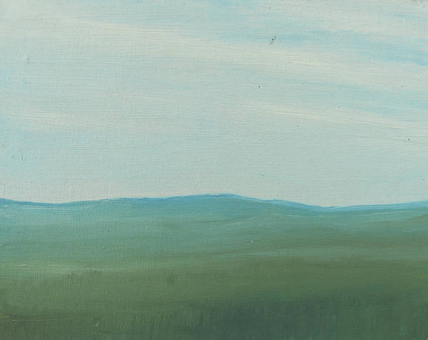 Painting - Dagrar Over Salenfjallen- Shifting Daylight Over Distant Horizon 4 Of 10_0029 51x40 Cm by Marica Ohlsson