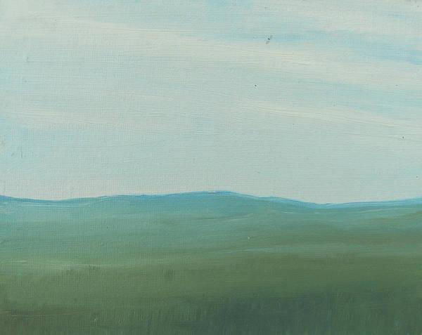 Dagrar Over Salenfjallen- Shifting Daylight Over Distant Horizon 4 Of 10_0029 51x40 Cm Art Print