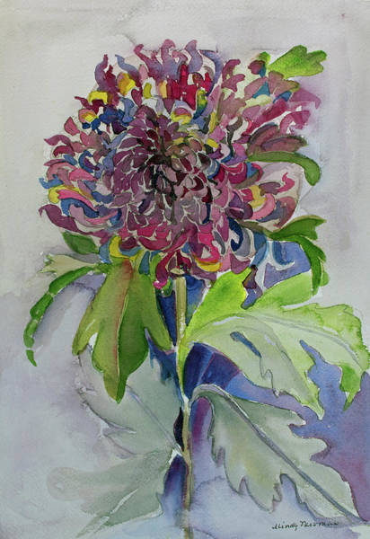 Wall Art - Painting - Dahlia by Mindy Newman
