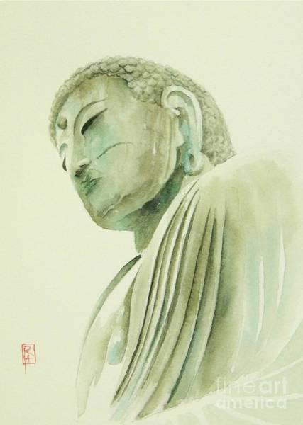 Buddhism Painting - Daibutsu by Robert Hooper