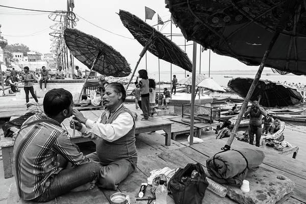 Photograph - Daily Life In Varanasi by Mahesh Balasubramanian