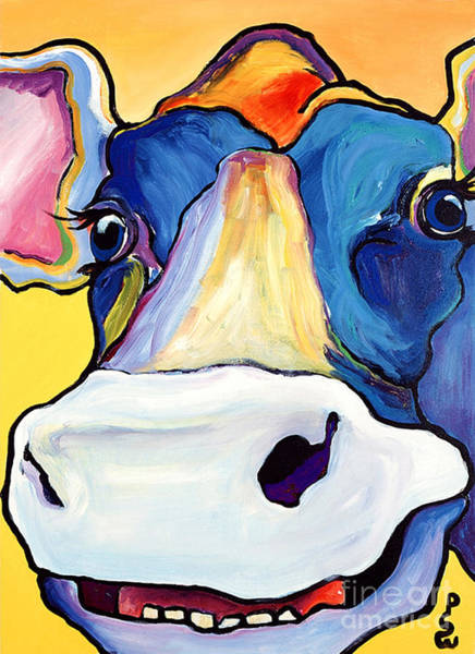 Cows Painting - Dairy Queen I   by Pat Saunders-White