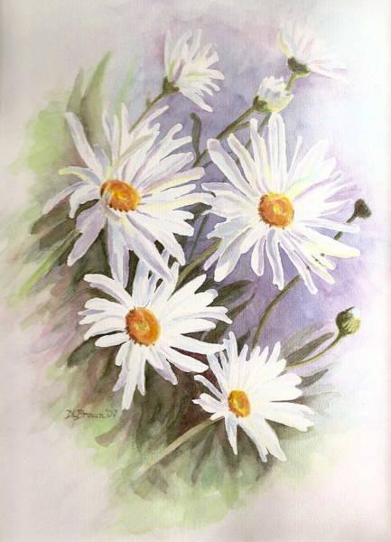 Painting - Daisies by Deborah Brown Maher