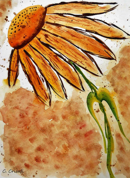Painting - Daisy 2 by Carol Crisafi