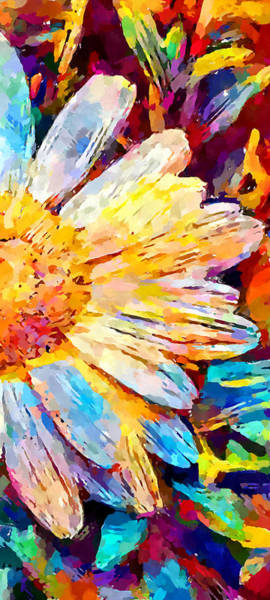 Camomile Painting - Daisy 2 by Chris Butler