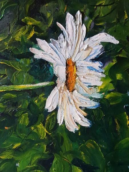 Painting - Daisy Bright     73 by Cheryl Nancy Ann Gordon