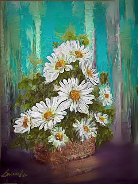 Digital Art - Daisy Daisy by Bonnie Willis