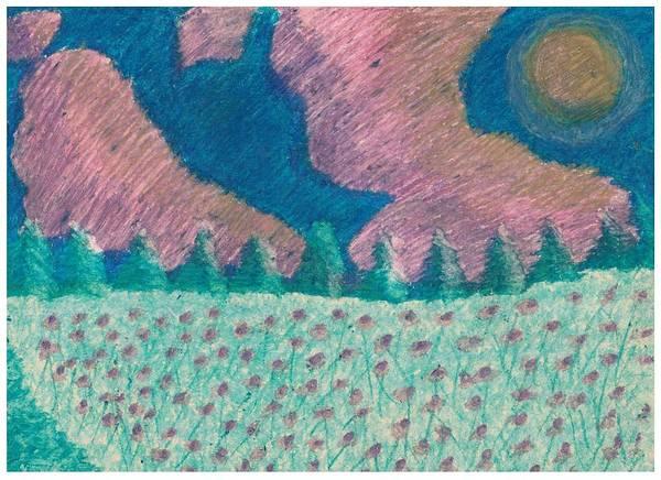 Daisy Fields Forever Art Print