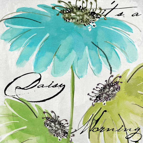 Wall Art - Painting - Daisy Morning by Mindy Sommers