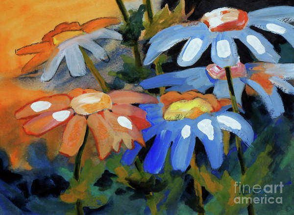 Wall Art - Painting - Daisy Patch 2 by Kathy Braud