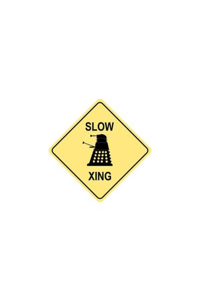 Digital Art - Dalek Crossing by Richard Reeve