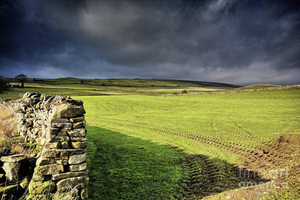 Yorkshire Wall Art - Photograph - Dales Storm Clouds by Smart Aviation